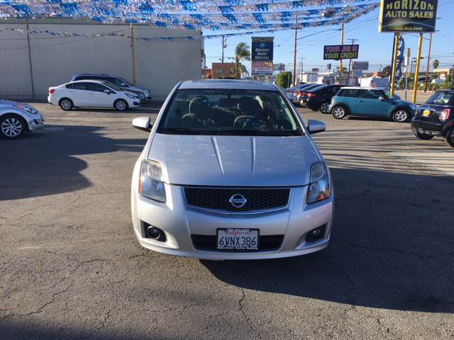 2012 Nissan Sentra for sale at Horizon Auto Sales in Bellflower CA