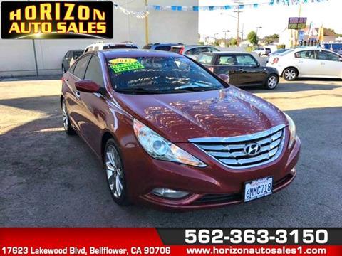 2011 Hyundai Sonata for sale at Horizon Auto Sales in Bellflower CA