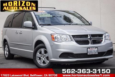 2012 Dodge Grand Caravan for sale at Horizon Auto Sales in Bellflower CA