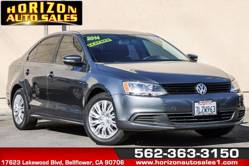 2014 Volkswagen Jetta for sale at Horizon Auto Sales in Bellflower CA