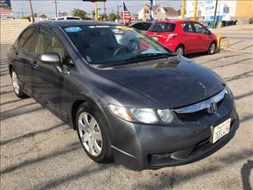 2009 Honda Civic for sale at Horizon Auto Sales in Bellflower CA