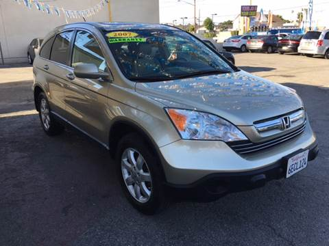 2007 Honda CR-V for sale at Horizon Auto Sales in Bellflower CA