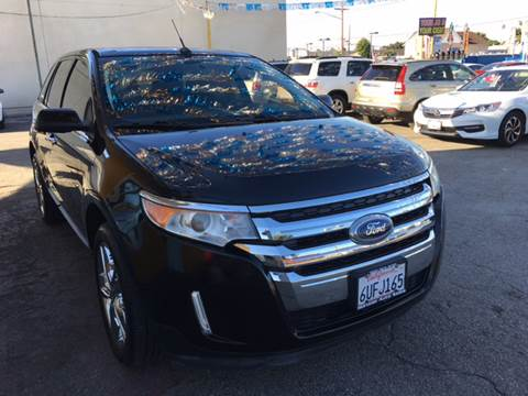 2011 Ford Edge for sale at Horizon Auto Sales in Bellflower CA