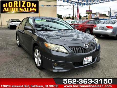 2010 Toyota Camry for sale at Horizon Auto Sales in Bellflower CA