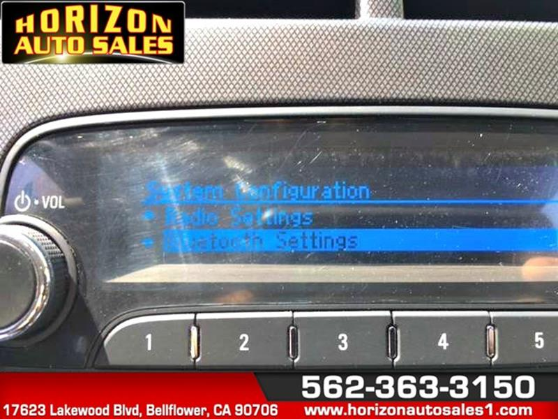 2012 Chevrolet Sonic for sale at Horizon Auto Sales in Bellflower CA