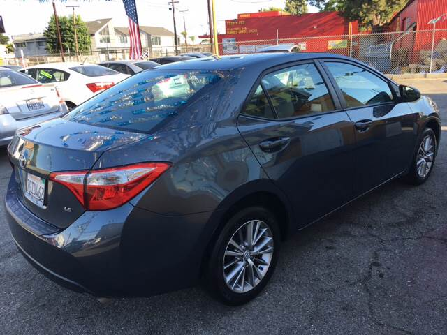 2014 Toyota Corolla for sale at Horizon Auto Sales in Bellflower CA