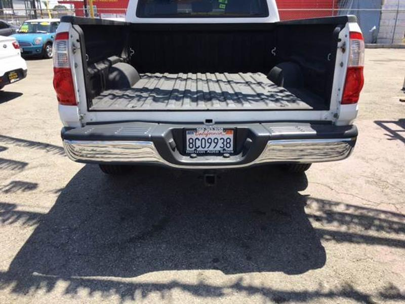 2006 Toyota Tundra for sale at Horizon Auto Sales in Bellflower CA