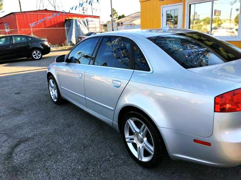 2007 Audi A4 for sale at Horizon Auto Sales in Bellflower CA