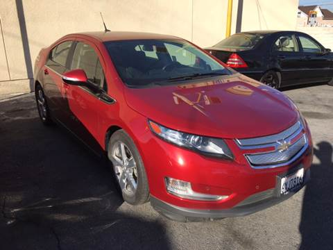 2013 Chevrolet Volt for sale at Horizon Auto Sales in Bellflower CA