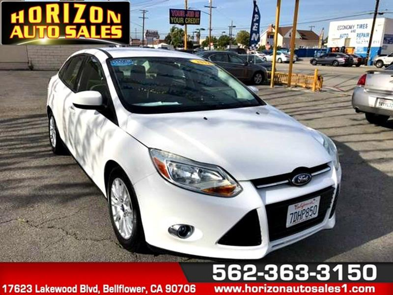 2012 Ford Focus for sale at Horizon Auto Sales in Bellflower CA