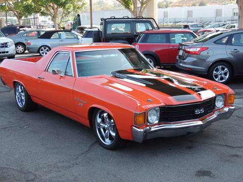 1972 Chevrolet El Camino for sale in San Juan Capistrano, CA