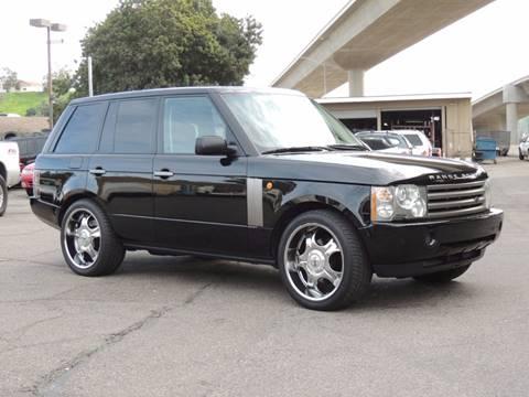 2004 Land Rover Range Rover for sale in San Juan Capistrano, CA