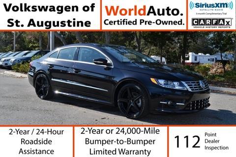 2015 Volkswagen CC for sale in Saint Augustine, FL