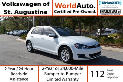 2015 Volkswagen Golf for sale in Saint Augustine, FL