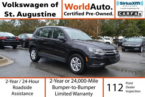2014 Volkswagen Tiguan for sale in Saint Augustine, FL