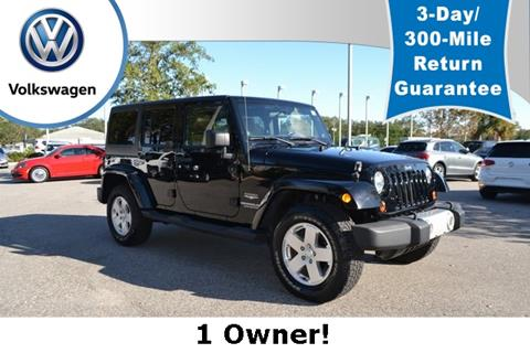 2011 Jeep Wrangler Unlimited for sale in Saint Augustine, FL