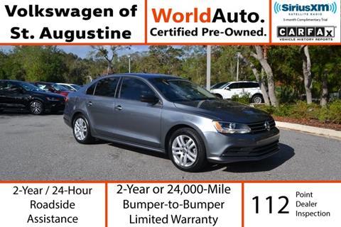 2015 Volkswagen Jetta for sale in Saint Augustine, FL