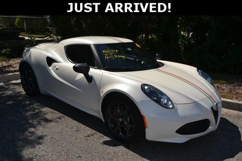 Used Alfa Romeo C For Sale In Indiana Carsforsalecom - Used alfa romeo 4c for sale