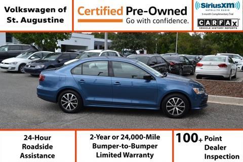 2016 Volkswagen Jetta for sale in Saint Augustine, FL