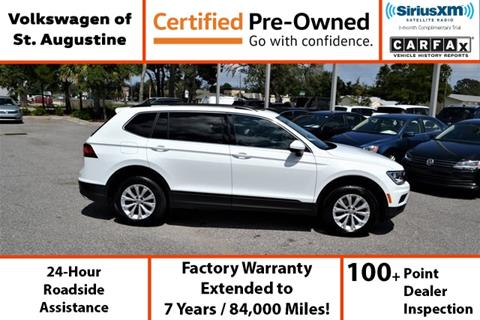 2019 Volkswagen Tiguan for sale in Saint Augustine, FL
