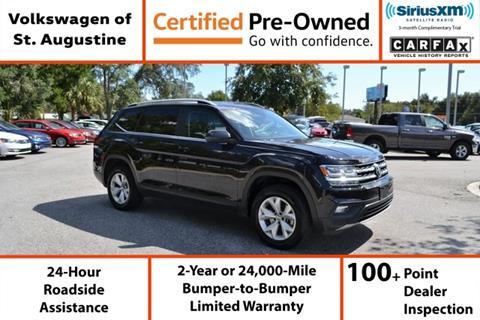 2019 Volkswagen Atlas for sale in Saint Augustine, FL