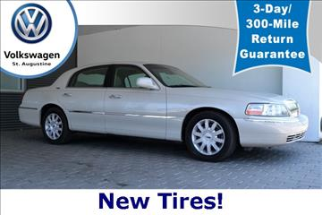 2007 Lincoln Town Car for sale in Saint Augustine, FL