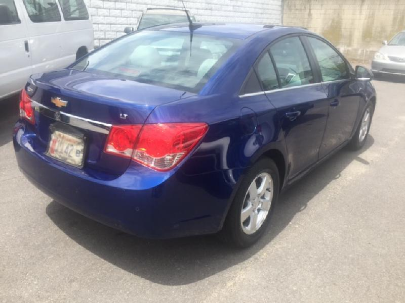2012 Chevrolet Cruze LT 4dr Sedan w/1LT - New Bedford MA