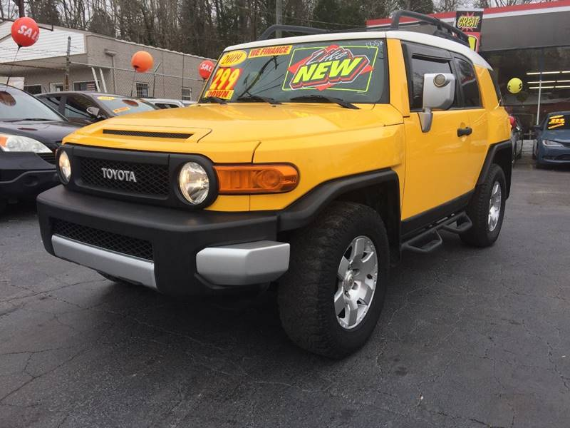 2009 Toyota FJ Cruiser 4x4 4dr SUV 5A   Knoxville TN