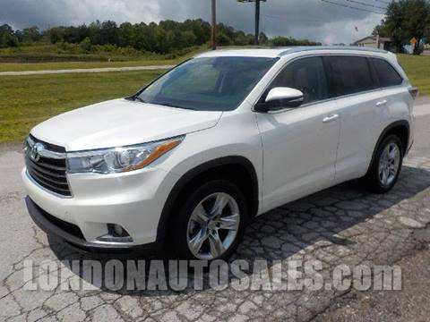 2015 Toyota Highlander for sale in London, KY