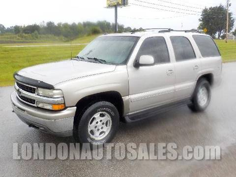 2004 Chevrolet Tahoe for sale in London, KY