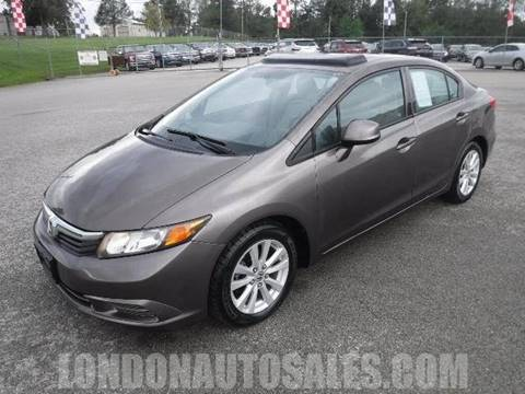 2012 Honda Civic For Sale In London, KY
