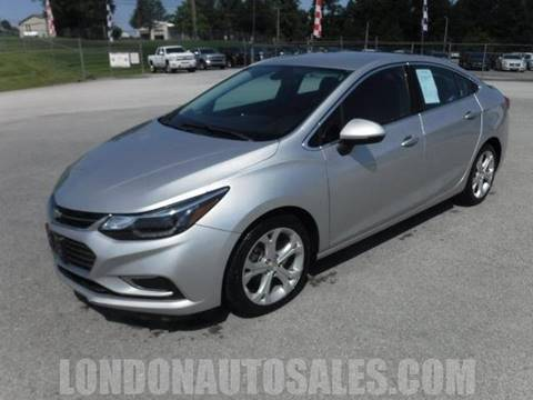2017 Chevrolet Cruze for sale in London, KY