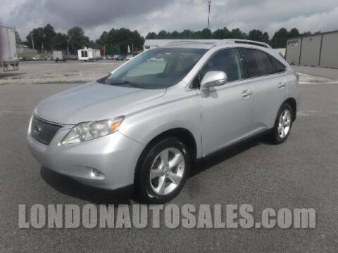 2010 Lexus RX 350 for sale at London Auto Sales LLC in London KY