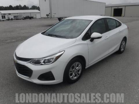 2019 Chevrolet Cruze for sale at London Auto Sales LLC in London KY