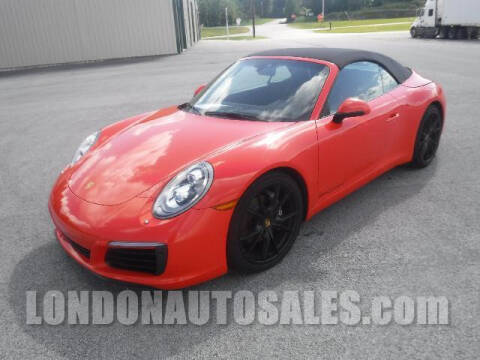 2017 Porsche 911 for sale at London Auto Sales LLC in London KY