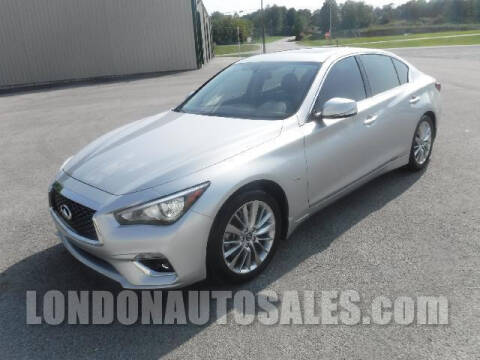 2019 Infiniti Q50 for sale at London Auto Sales LLC in London KY