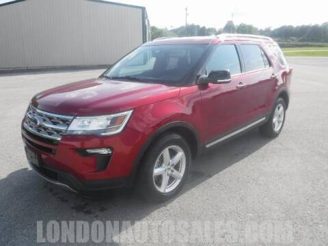 2018 Ford Explorer for sale at London Auto Sales LLC in London KY