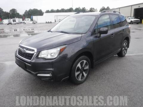 2017 Subaru Forester for sale at London Auto Sales LLC in London KY