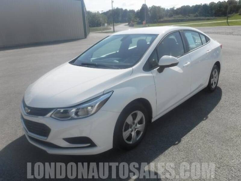 2017 Chevrolet Cruze for sale at London Auto Sales LLC in London KY