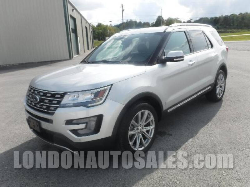 2017 Ford Explorer for sale at London Auto Sales LLC in London KY