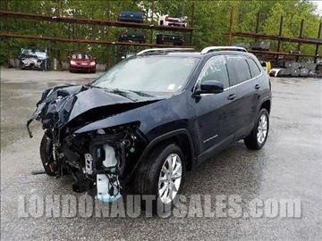2016 Jeep Cherokee for sale in London, KY
