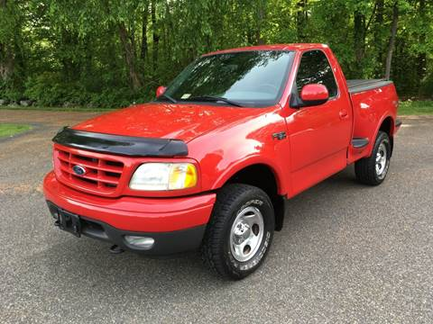 2003 Ford F-150 for sale at Lou Rivers Used Cars in Palmer MA