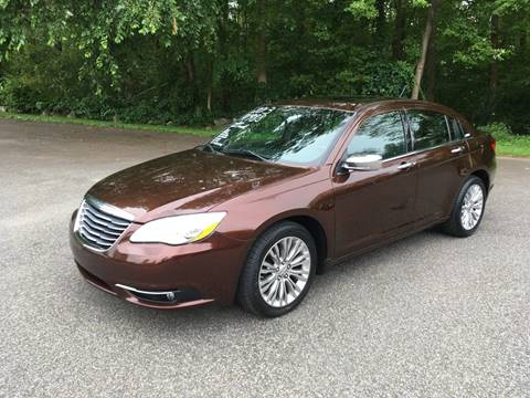 2013 Chrysler 200 for sale at Lou Rivers Used Cars in Palmer MA