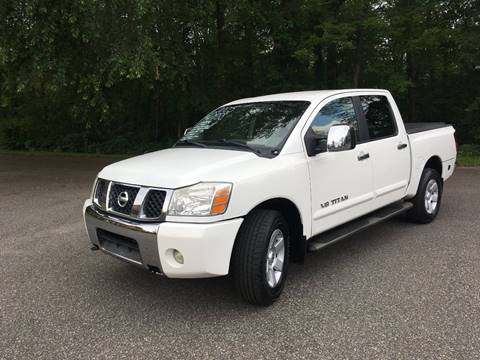 2005 Nissan Titan for sale at Lou Rivers Used Cars in Palmer MA