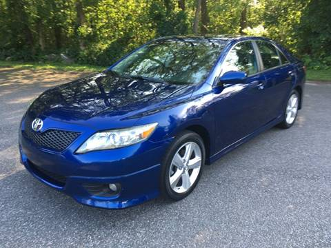 2010 Toyota Camry for sale at Lou Rivers Used Cars in Palmer MA