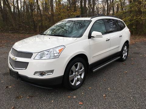 2012 Chevrolet Traverse for sale at Lou Rivers Used Cars in Palmer MA