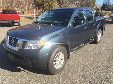 2016 Nissan Frontier for sale at Lou Rivers Used Cars in Palmer MA