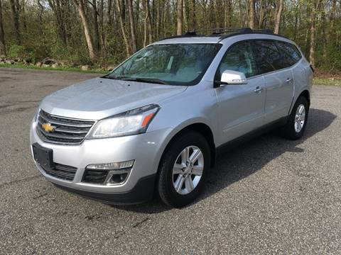 2013 Chevrolet Traverse for sale at Lou Rivers Used Cars in Palmer MA
