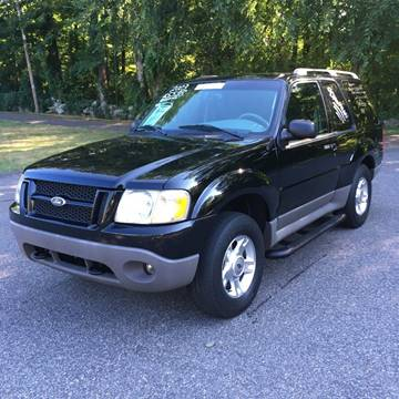2003 Ford Explorer Sport for sale at Lou Rivers Used Cars in Palmer MA