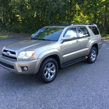 2008 Toyota 4Runner for sale at Lou Rivers Used Cars in Palmer MA